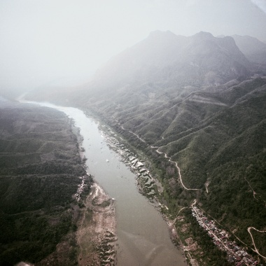 Art and Documentary Photography Blog - Loading Xayabouri Dam Laos