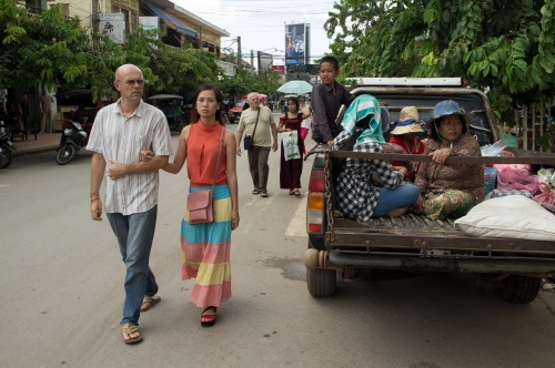 Art and Documentary Photography Blog - Loading Tourist in Paradise, Cambodia